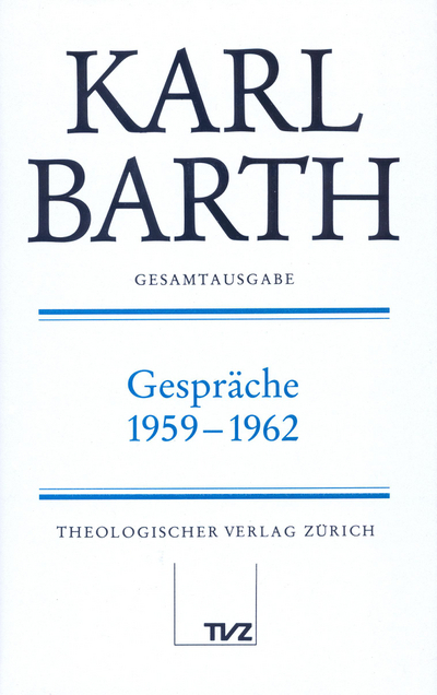 Cover Gespräche 1959–1962