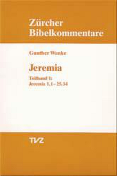 Cover Jeremia 1.1–25.14