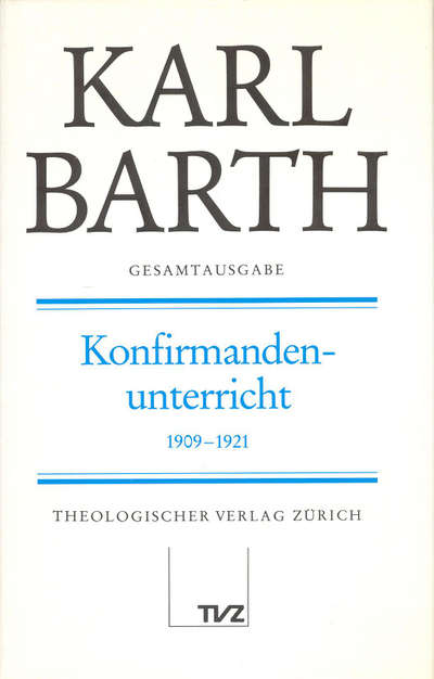 Cover Konfirmandenunterricht 1909–1921