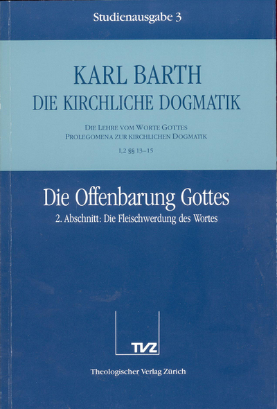 Cover 3: I.2 § 13–15: Die Offenbarung Gottes