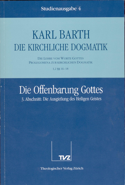Cover 4: I.2 § 16–18: Die Offenbarung Gottes