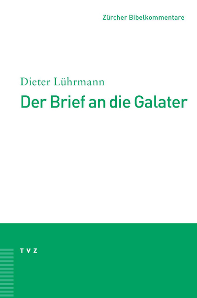 Cover zu Der Brief an die Galater