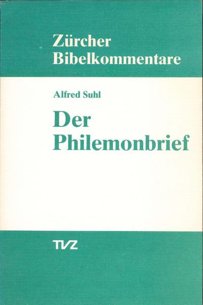 Cover Der Philemonbrief