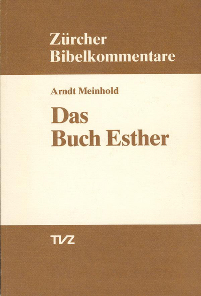 Cover Das Buch Esther