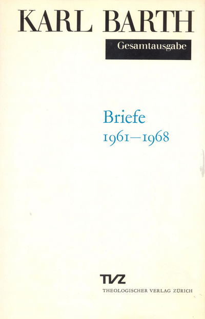 Cover Briefe 1961–1968