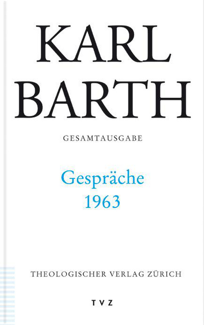 Cover Gespräche 1963