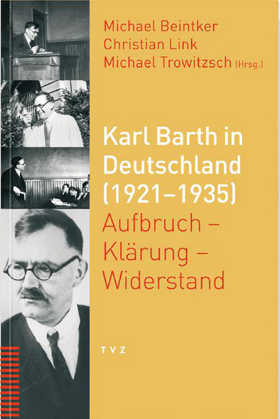 Cover Karl Barth in Deutschland (1921–1935)