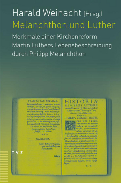 Cover Melanchthon und Luther