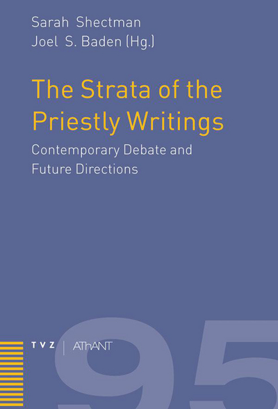 Cover The Strata of the Priestly Writings