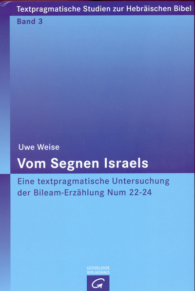 Cover Vom Segnen Israels