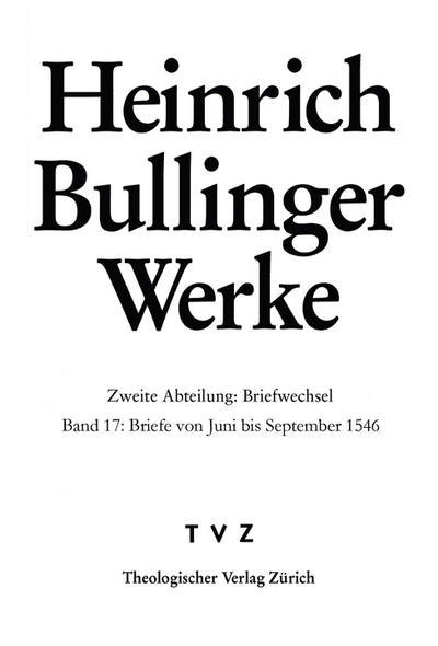 Cover Briefe von Juni bis September 1546