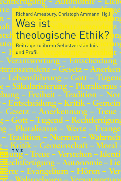Cover Was ist theologische Ethik?