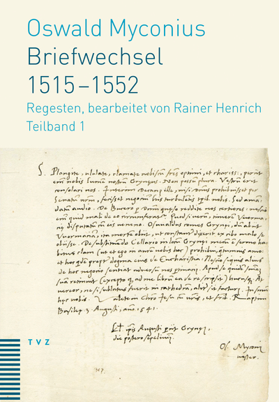 Cover Briefwechsel 1515–1552