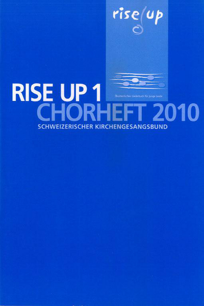 Cover Rise up Chorheft 2010