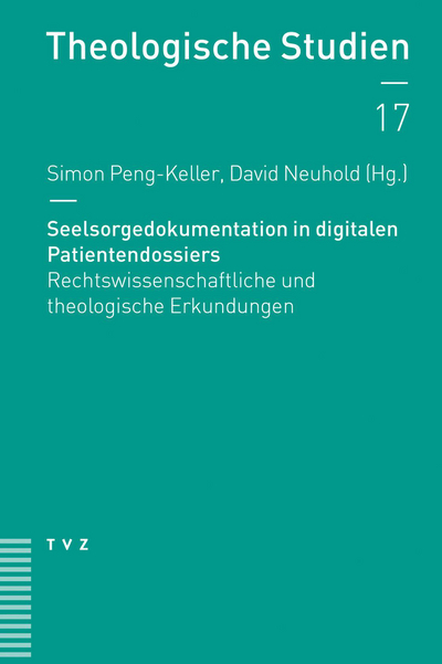 Cover Seelsorgedokumentation in digitalen Patientendossiers