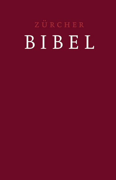 Cover Zürcher Bibel – Grossdruckbibel