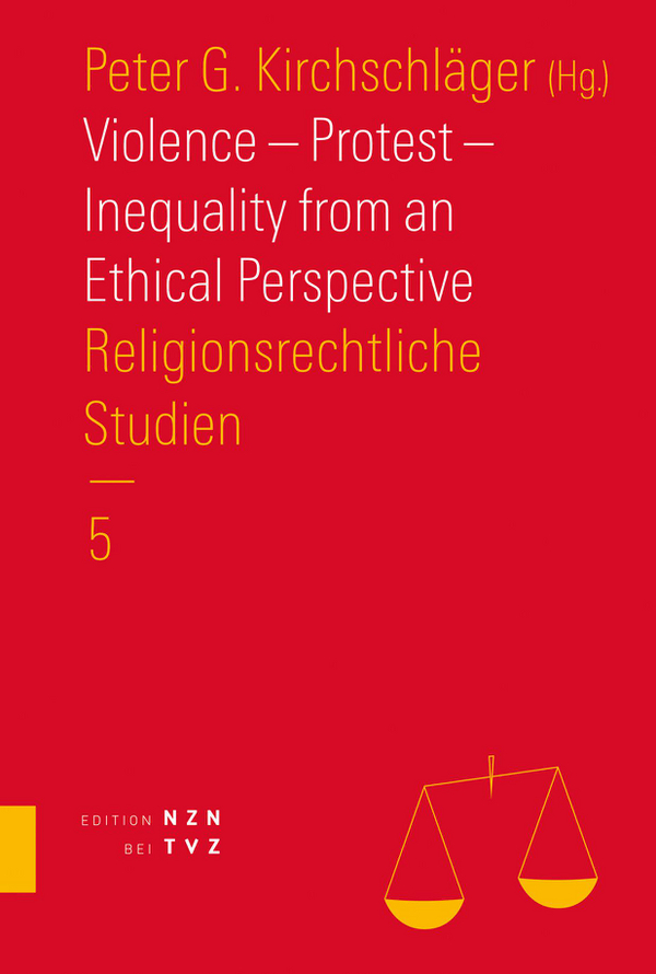 Cover von Violence – Protest – Inequality from an Ethical Perspective