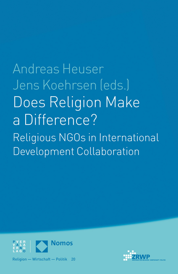 Cover von Does Religion Make a Difference?